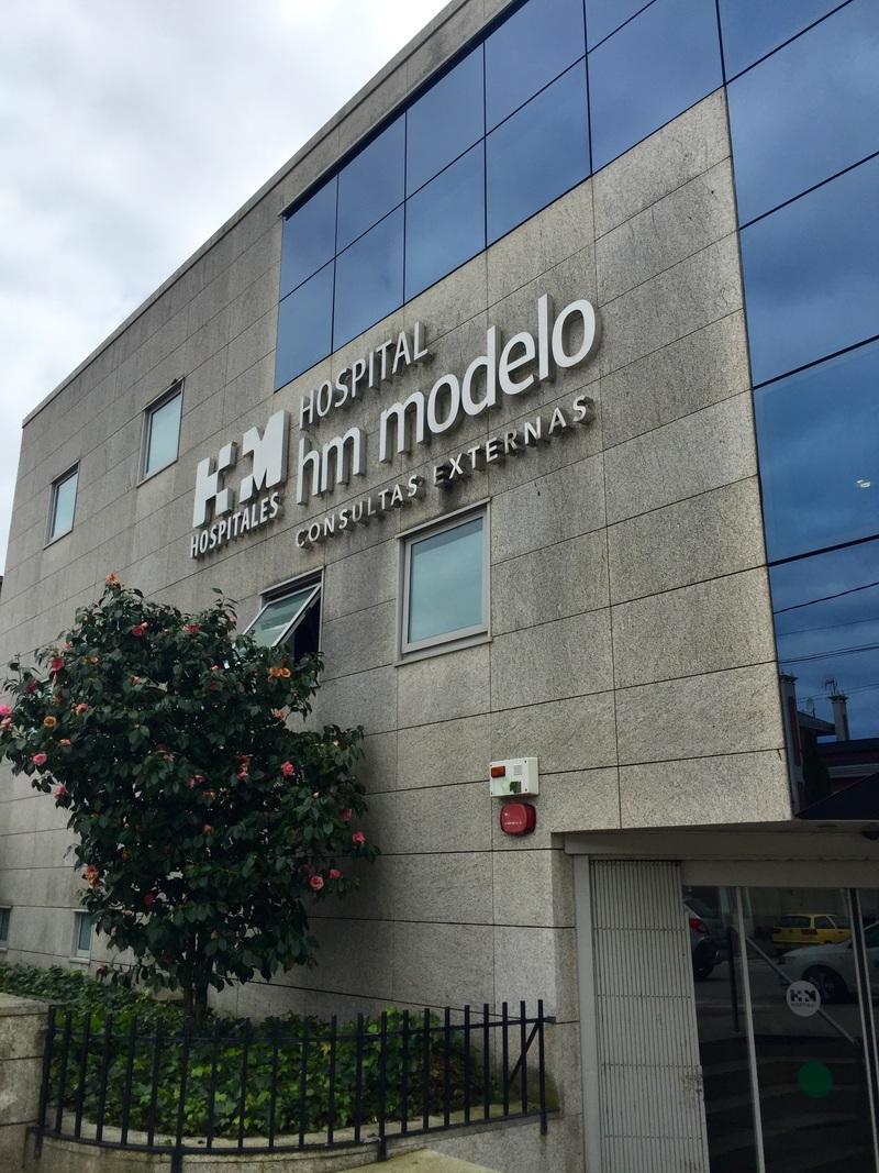 edificio del Modelo hospital Coruña