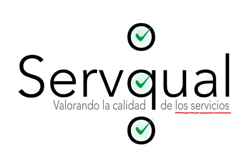Logo del modelo servqual