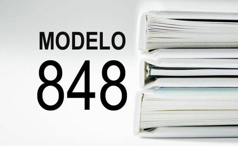 Modelo 848 Impuesto sobre Actividades Económicas