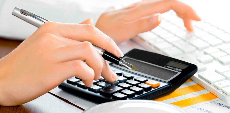 Modelo factura proforma hombre calculando