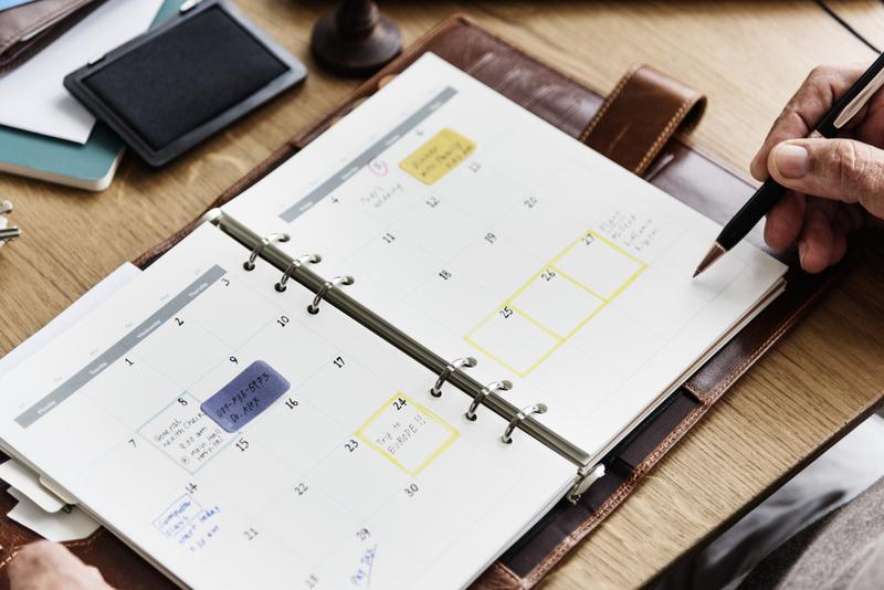cuaderno y lapiz del Modelo EX18