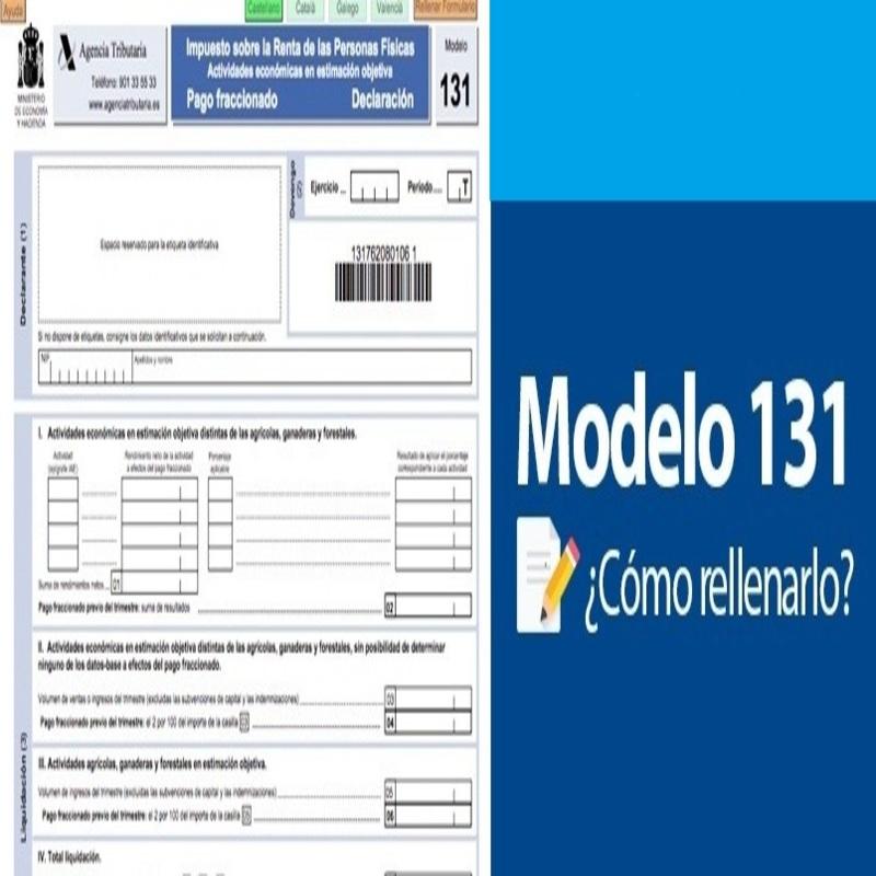 modelo 131 como rellenar
