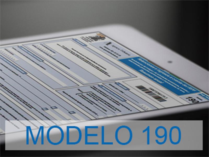 Modelo 190 España 2