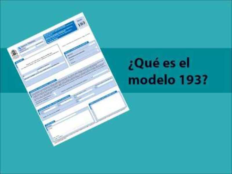 Modelo 193 España 2
