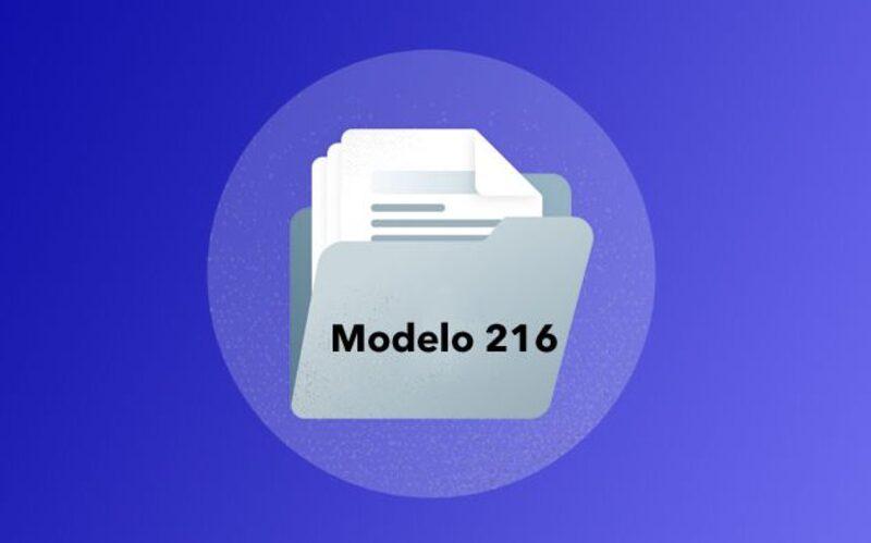 Modelo 216 España 4