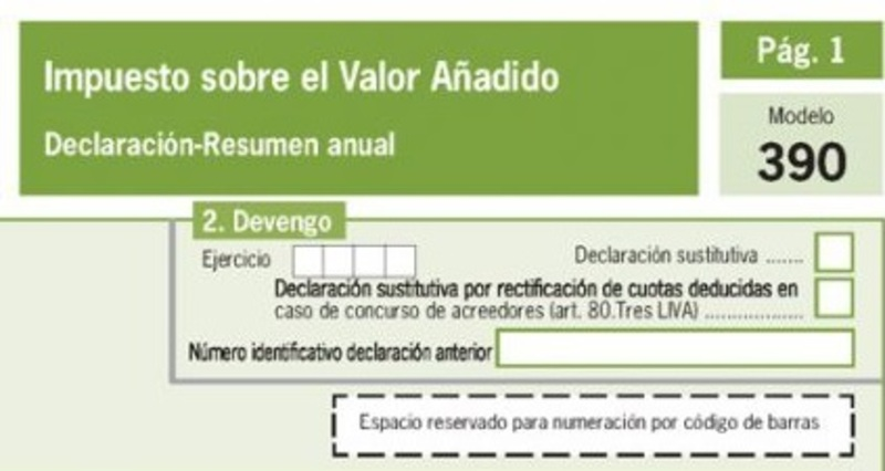 Modelo 390 España 12