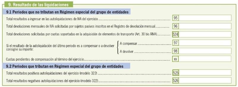 Modelo 390 España 18