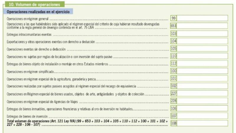 Modelo 390 España 19