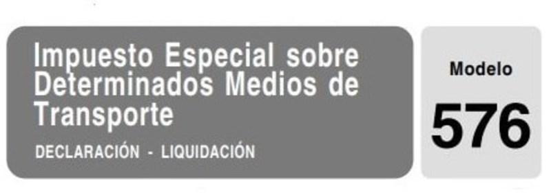 Modelo 576 España 3