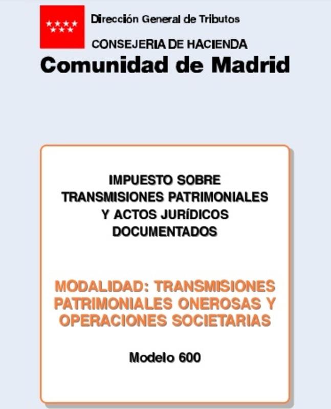 Modelo 600 España 9