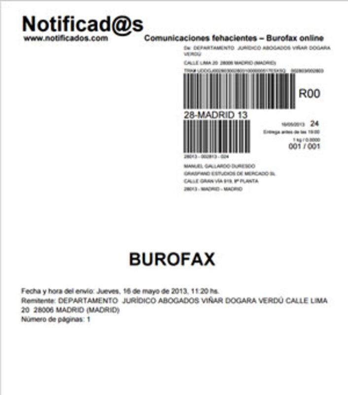 Modelo Burofax 5