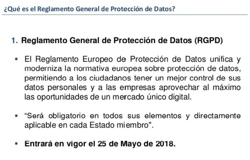 que es el Modelo documento protección de datos