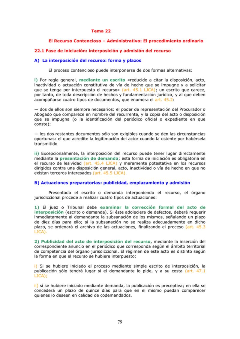 Modelo recurso contencioso administrativo abreviado