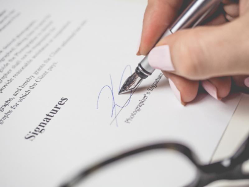 Modelo reconocimiento de deuda firma de contrato